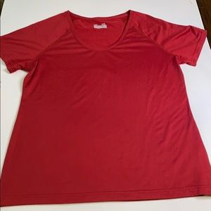 Ladies under armour semi fitted top size xl